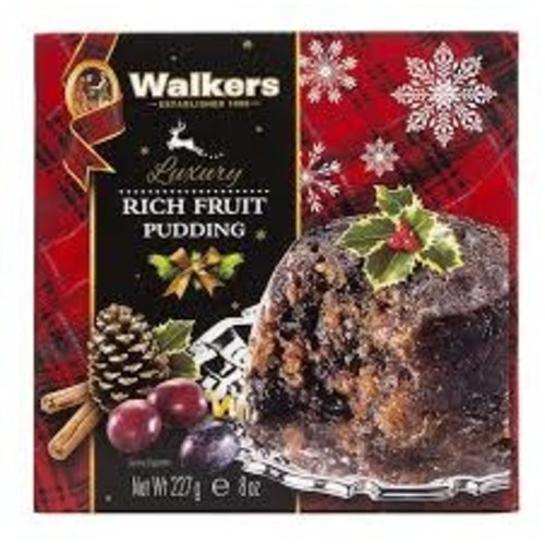 Walkers Walkers Plum Pudding 8oz Box