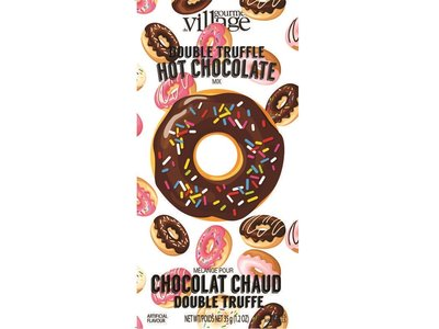 Gourmet du Village Donut Double Truffle Cocoa Packet 1.2 Oz
