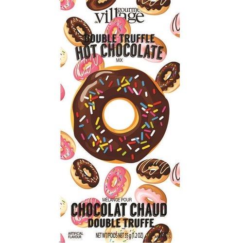 Gourmet du Village Donut Double Truffle Cocoa Packet 1.2 Oz