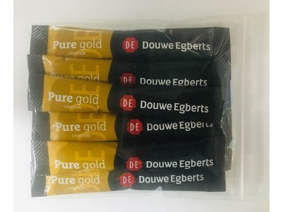 Douwe Egberts Douwe Egberts Pure Gold Instant coffee sticks 10  ct