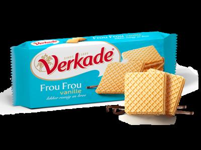 Verkade Verkade Vanilla Cream Wafer 5.2 Oz DATED OCT 2020