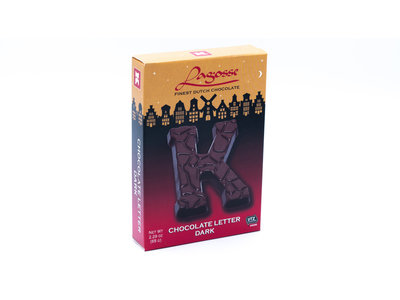 Lagosse Dark K Small Letter 2.3 Oz