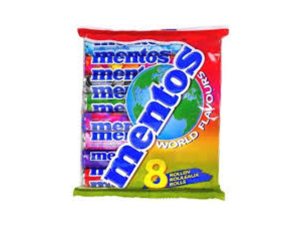 Van Melle Mentos World Flavors 8 Roll Pack