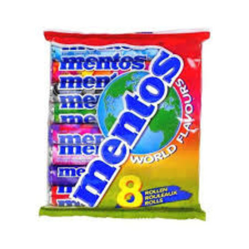 Van Melle Mentos World Flavors 8 Roll Pack