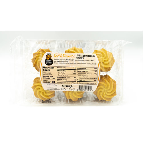 Cookie Brothers Cookie Brothers Shortbread Spritz Cookies 6.1 oz
