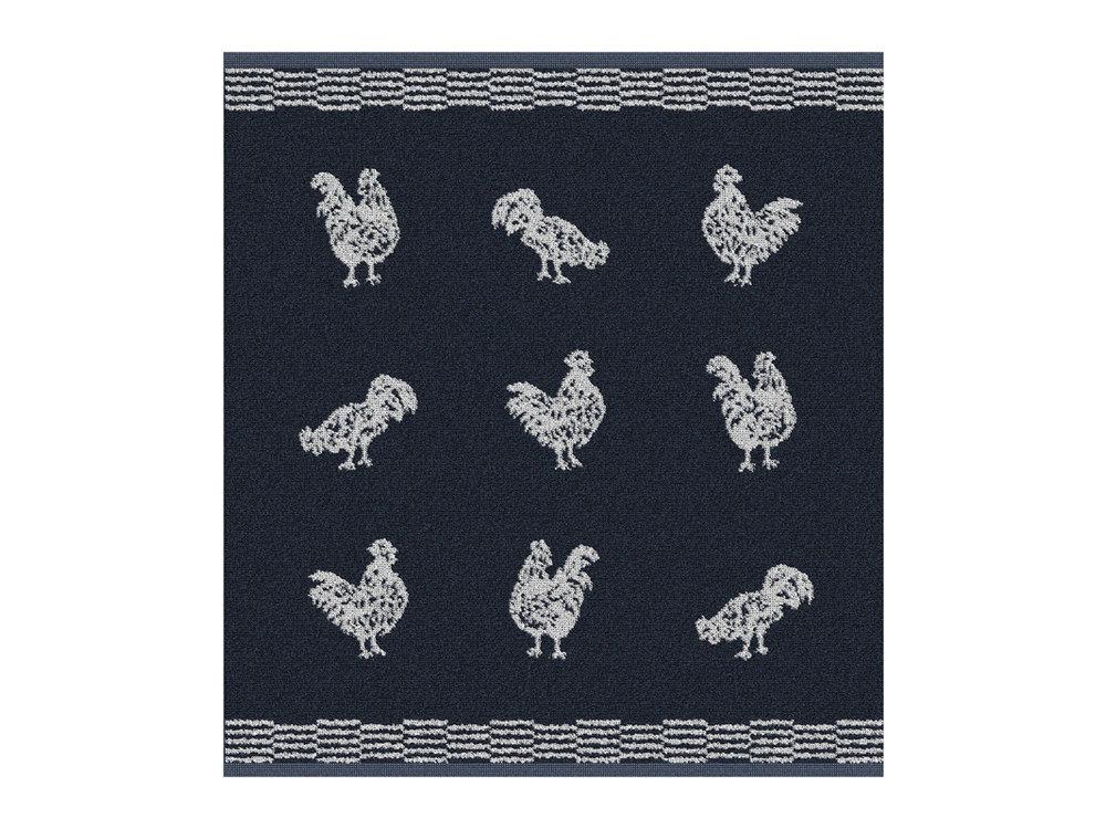 DDDDD DDDDD Chicken Hand Towel Blue
