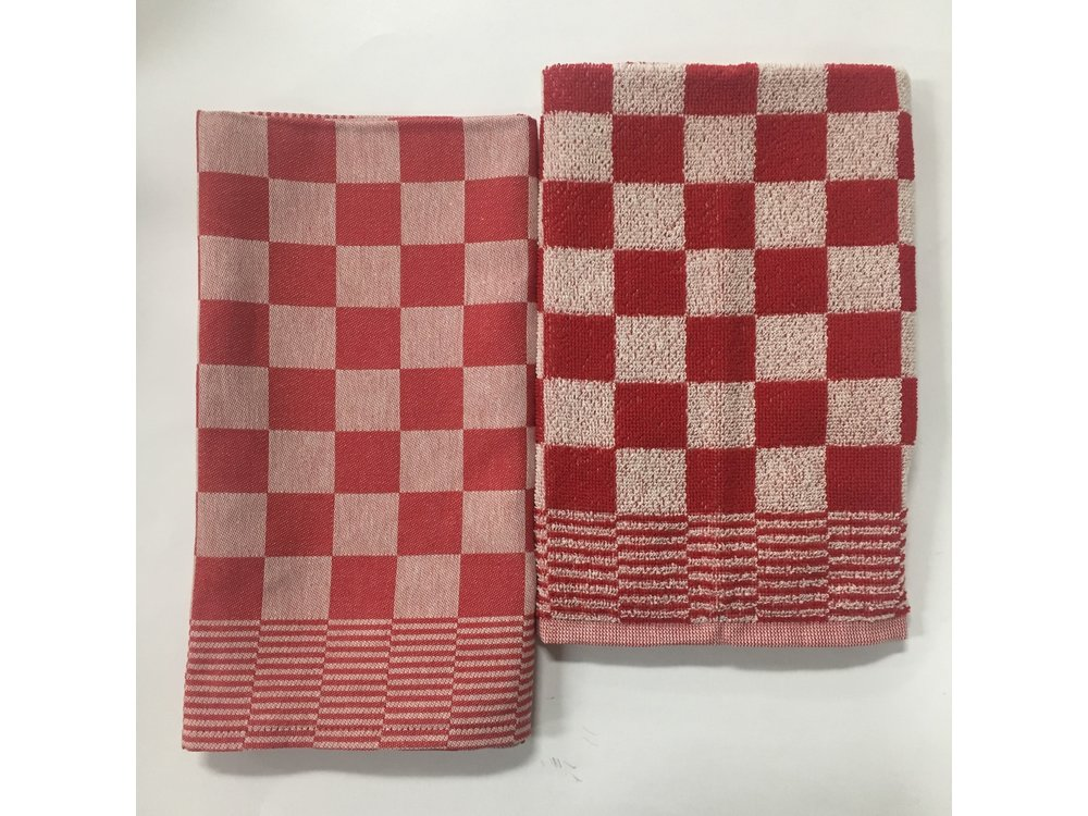 DDDDD DDDDD Dove Barbecue Red Tea & Hand Towel Set