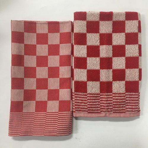 DDDDD DDDDD Dove Barbecue Red Tea & Hand Towel Set