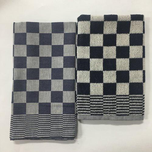 DDDDD DDDDD Dove Barbecue Blue Tea & Hand Towel Set
