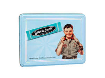 Beemans Black Jack Gum Gift Tin 10 Packs