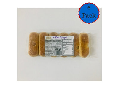 Aviateur Aviateur Almond Fingers 6 Pack