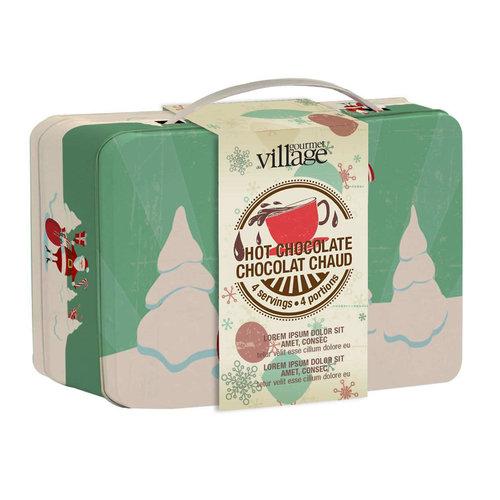 GDV Hot Chocolate Lunchbox Santa