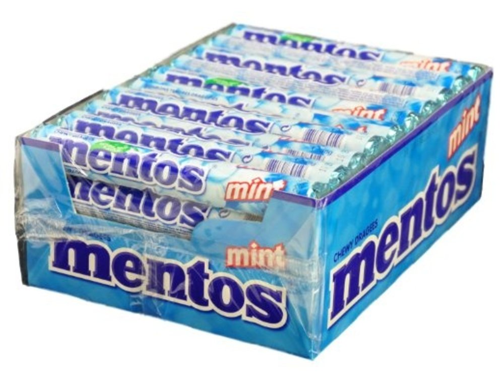 Van Melle Mentos Peppermint 40 ct Box Deal!