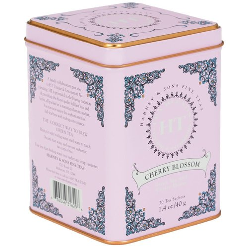 Harney & Son Harney & Sons Cherry Blossom 20 Ct Tea Tin