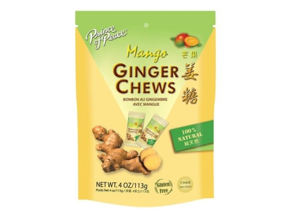 Prince of Peace Prince of Peace Mango Ginger Chews 4 oz