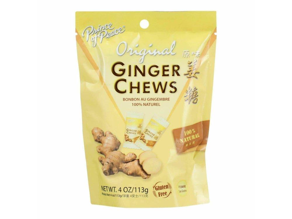 Prince of Peace Prince of Peace Original Ginger Chews 4 oz