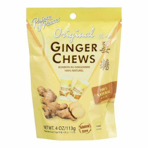 Prince of Peace Prince of Peace Original Ginger Chews 4 oz
