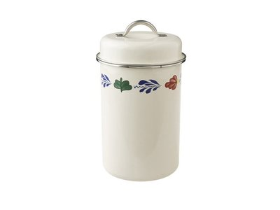 Boerenbont Storage Large Tin 8 tall x 5 in diameter
