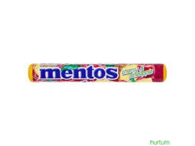 Van Melle Mentos Cherry Pineapple Single Rolls