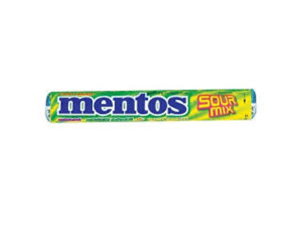 Van Melle Mentos Extra Sour Fruits Rolls