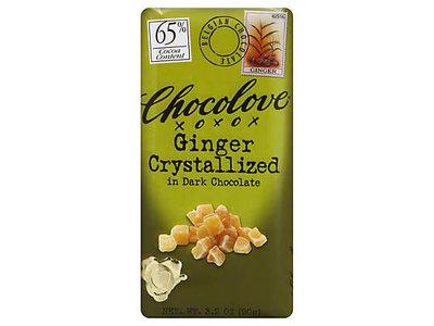 Chocolove Chocolove Ginger Dark 65% 3.2 oz