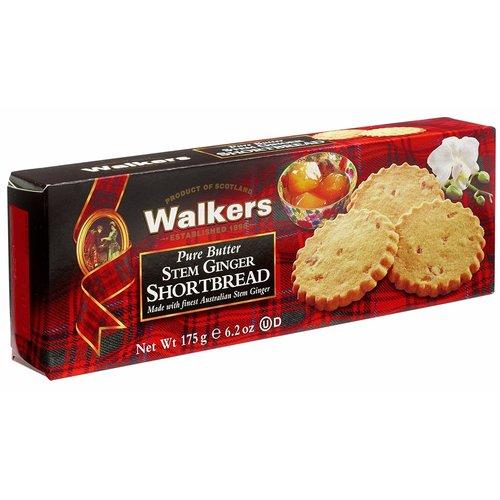 Walkers Walkers Stem Ginger Cookies 5.3 oz 12/cs