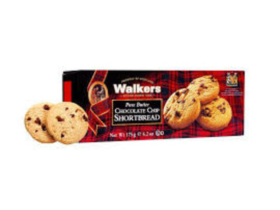 Walkers Walkers Chocolate Chip Shortbread 4.4 oz  12/cs