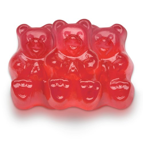 Albanese Albanese Fresh Strawberry Bears 5lb bag