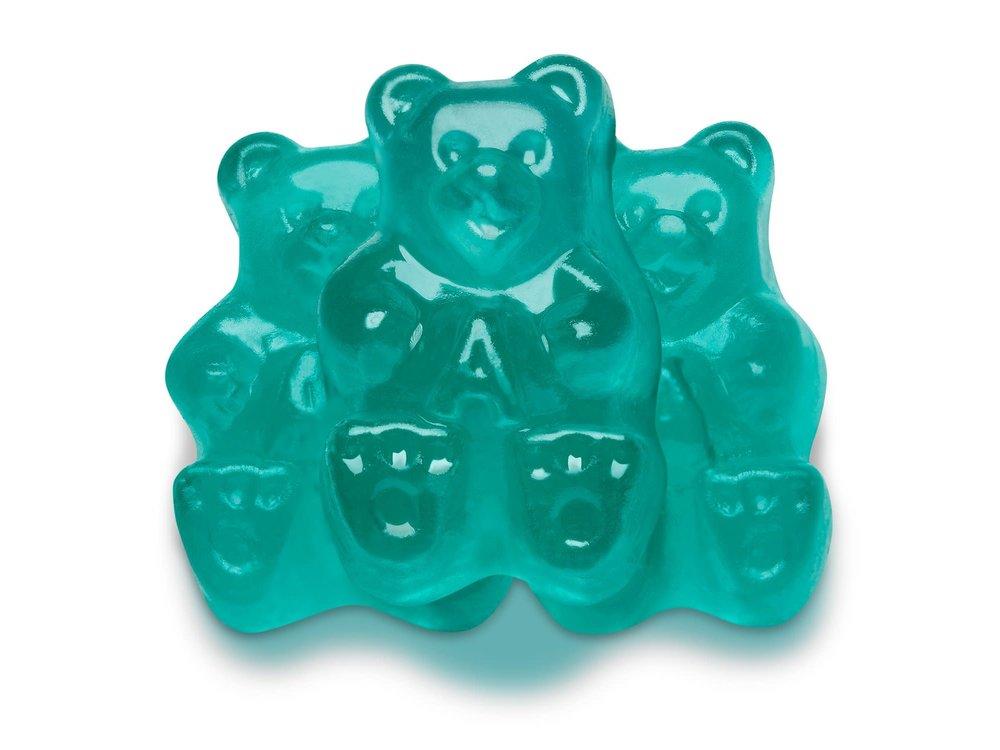 Albanese Albanese  Light Blue Watermelon Bears 5lb bag