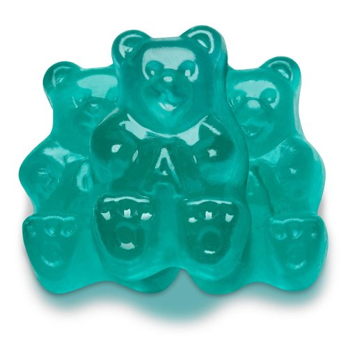 Albanese Albanese Light Blue Watermelon Bears 5lb bag