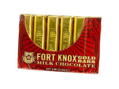 Fort Knox Mini Gold Bar 2.96 Oz