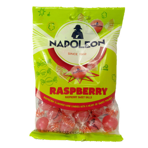 Napoleon Napoleon Raspberry Fruit Sour Balls 5.2 oz