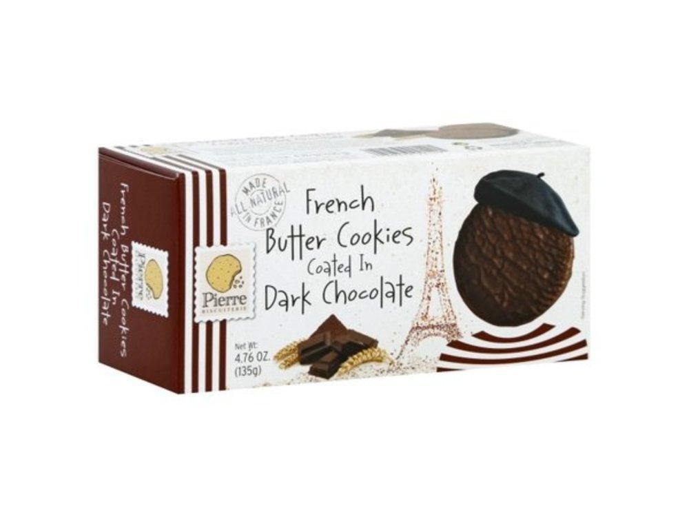 Pierre Biscuiterie Pierre French Butter Dark choc original cookies 4.7 oz