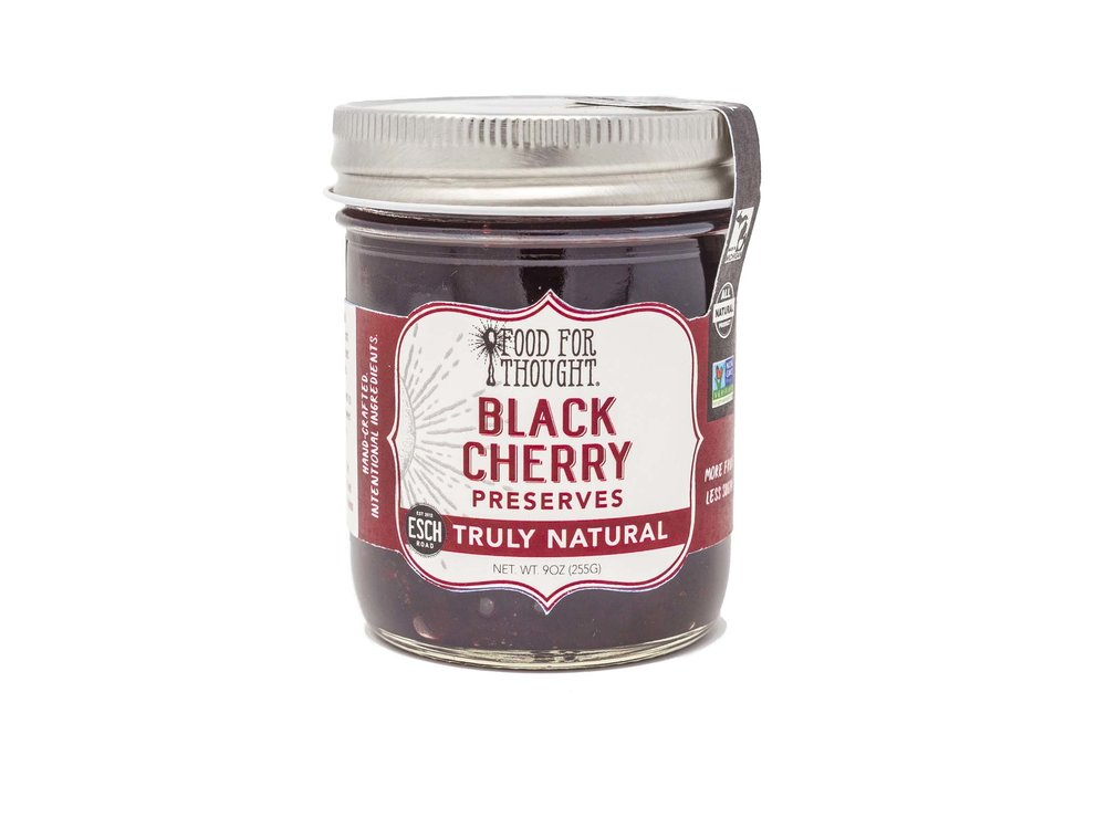 Food For Thought Food for Thought Black Cherry Preserve 9oz