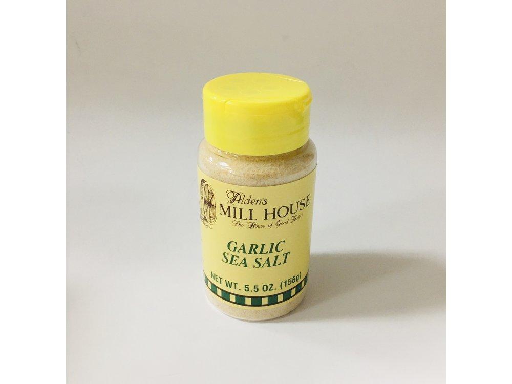 Alden Mill House Alden Mill Garlic Seasalt 6 oz shaker