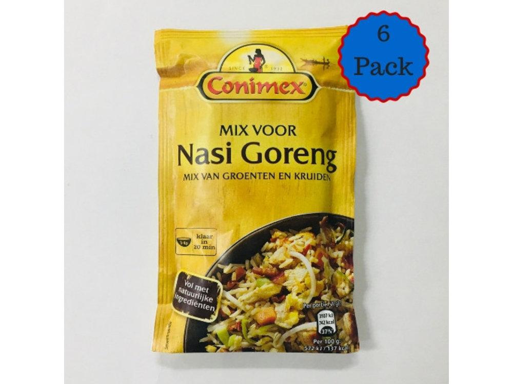 Conimex Conimex Nasi Goreng Spices Bag 6 PACK
