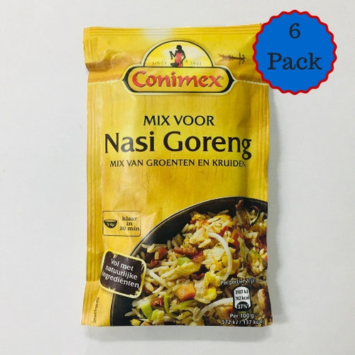 Conimex Conimex Nasi Goreng Spices Bag 6 PACK