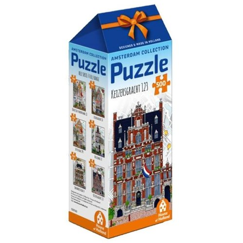 Games Puzzle Amsterdam Keizersgracht 500 pc