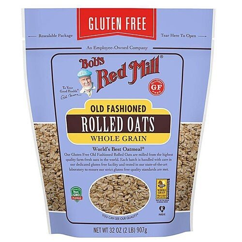 Bobs Red Mill Rolled Oats Glute Free 32 oz