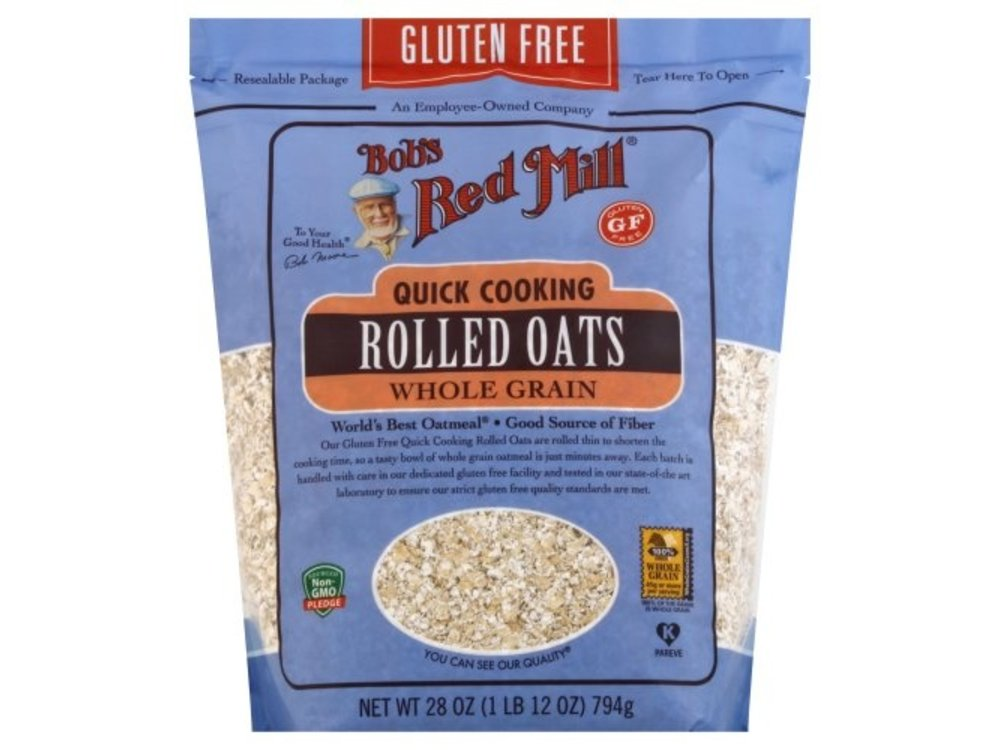 Bobs Red Mill Rolled Oats Glute Free Quick Cook 28oz