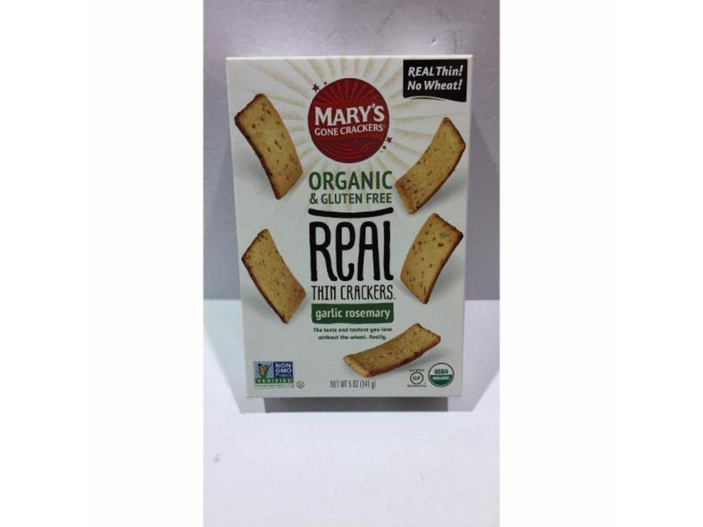 Marys Gone Crackers Marys Gone Crackers GF Garlic Rosemary 5oz