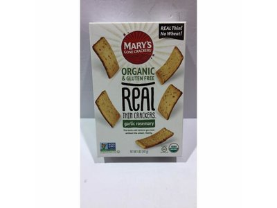 Marys Gone Crackers Marys Gone Crackers GF Garlic Rosemary 5oz