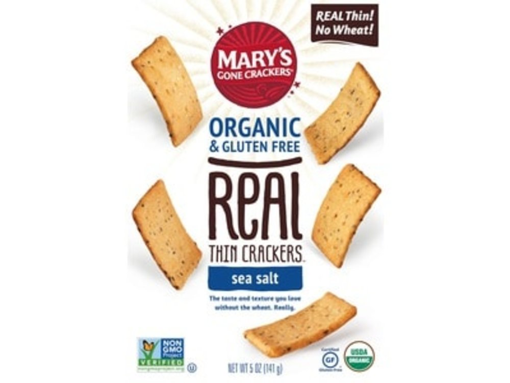 Marys Gone Crackers Marys Gone Crackers GF Sea Salt 5oz