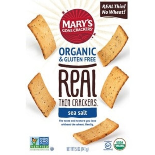 Marys Gone Crackers Marys Gone Crackers GF Sea Salt 5oz