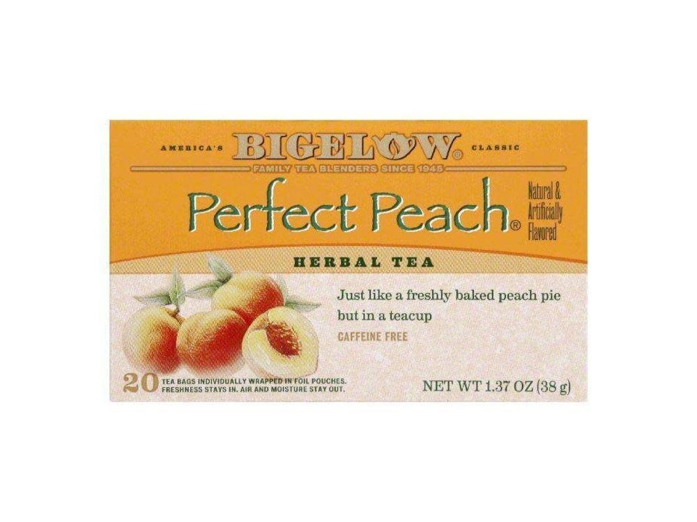 Bigelow Perfect Peach Tea 20 ct