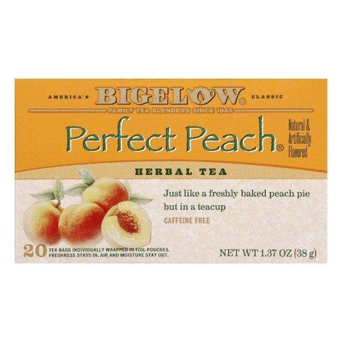 Bigelow Perfect Peach Tea 20 ct