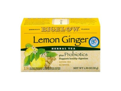 Bigelow Lemon Ginger Tea 18 ct
