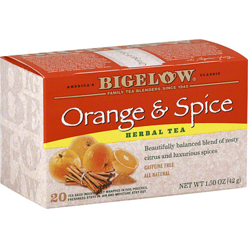 Bigelow Orange & Spice Tea 18 ct