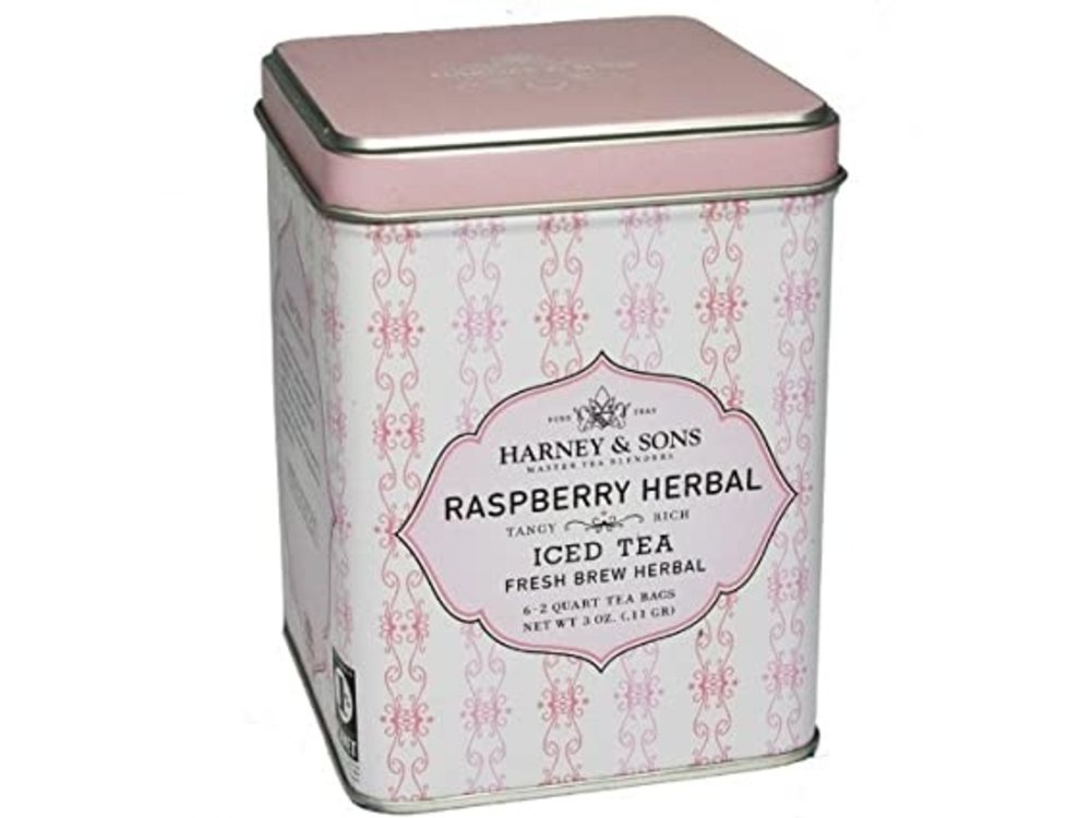 Harney & Son Harney & Sons Rasp Herbal ICED Tea 6-2 qt
