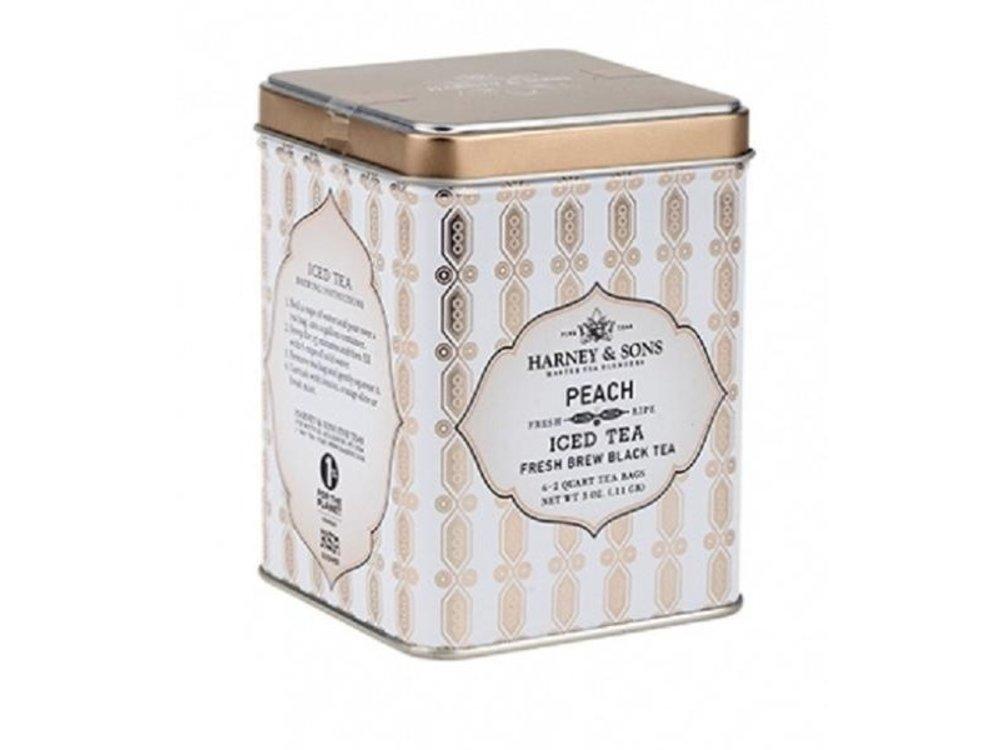 Harney & Son Harney & Sons Peach ICED Tea 6-2 qt